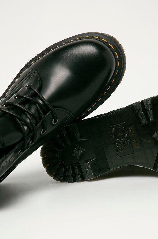 czarny Dr. Martens - Buty skórzane Jadon