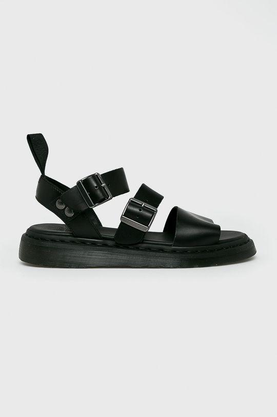 negru Dr Martens - Sandale De bărbați