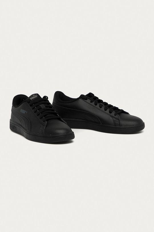 Puma - Topánky Smash v2 čierna