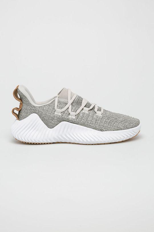 sivá adidas Performance - Topánky AlphaBOUNCE Trainer Pánsky