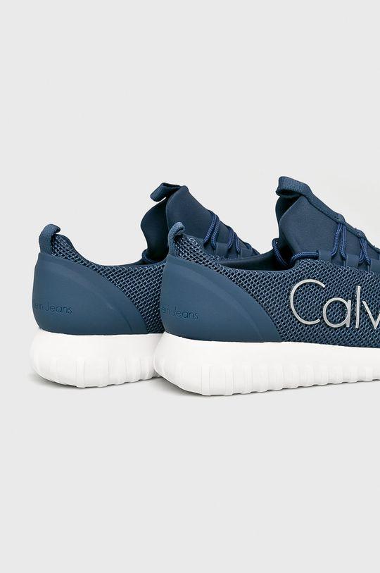 ocelová modrá Calvin Klein Jeans - Boty
