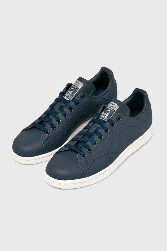adidas Originals - Topánky Stan Smith tmavomodrá