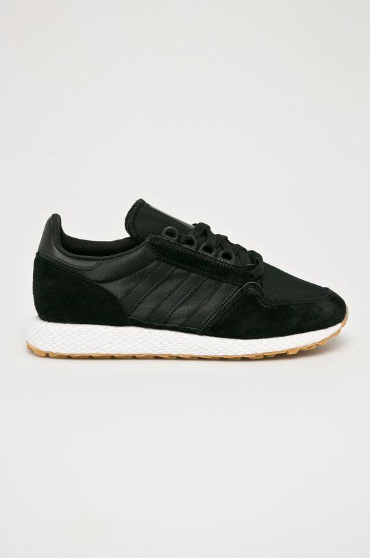 čierna adidas Originals - Topánky Forest Grove Pánsky