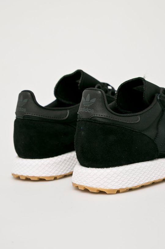 čierna adidas Originals - Topánky Forest Grove