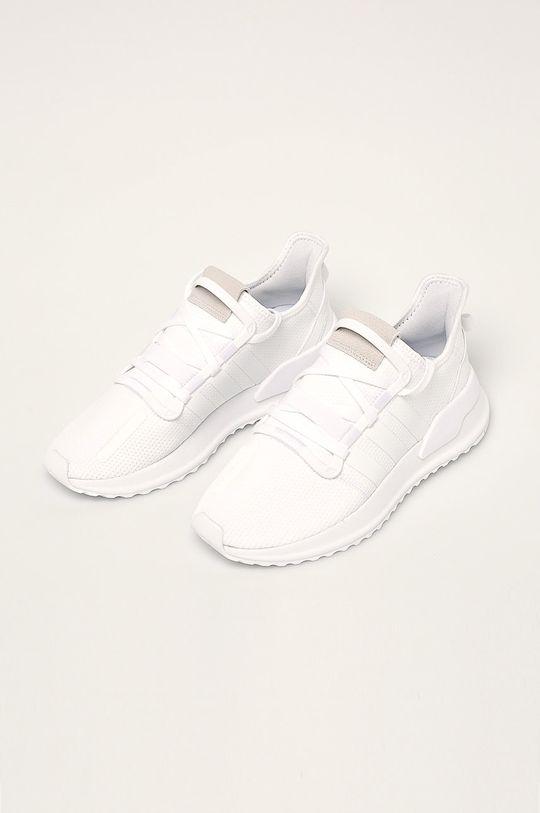 biały adidas Originals - Buty U Path Run
