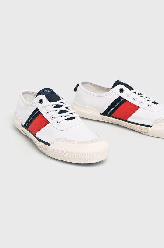 Pepe Jeans - Tenisky bílá