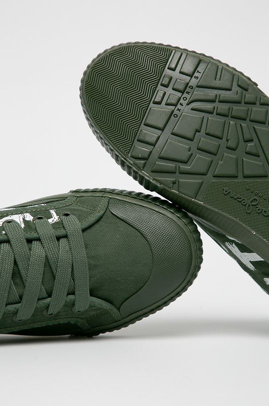 barnászöld Pepe Jeans - Sportcipő Industry Has No