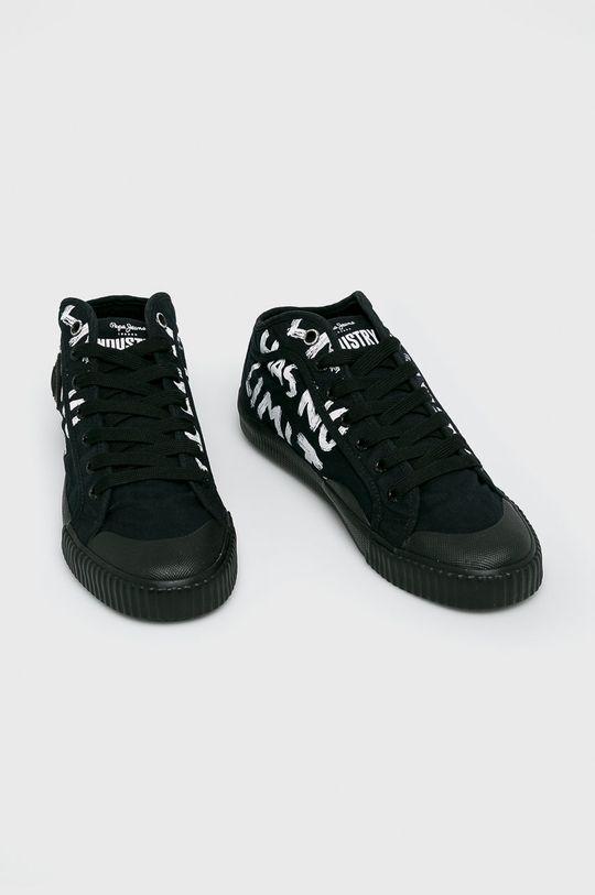 Pepe Jeans - Sportcipő Industry Has No fekete