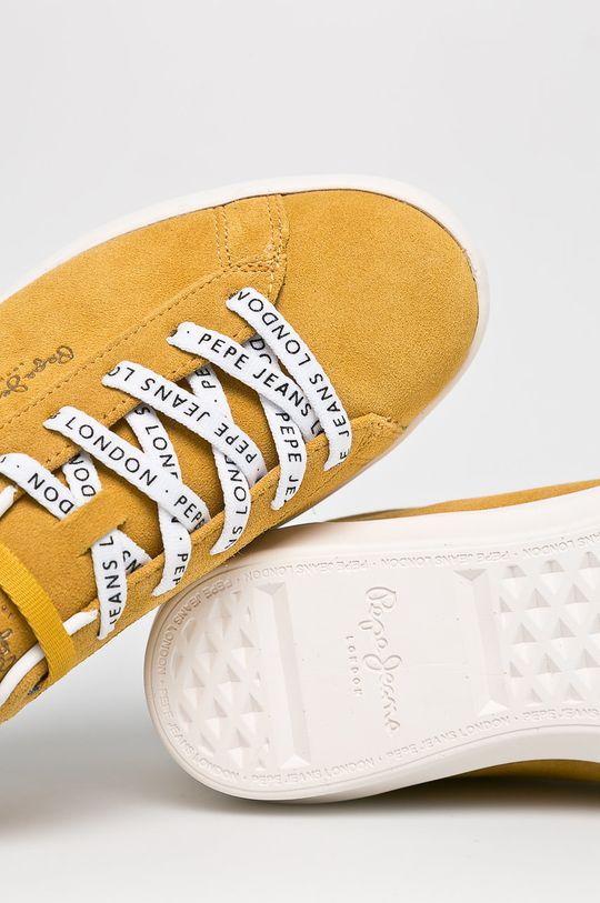 mustársárga Pepe Jeans - Cipő Roland