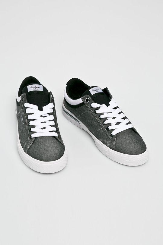 Pepe Jeans - Sportcipő North Court fekete