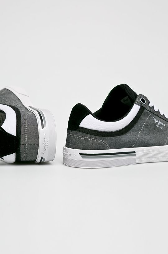 fekete Pepe Jeans - Sportcipő North Court