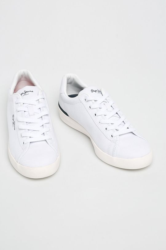 Pepe Jeans - Cipő Roland Basic fehér