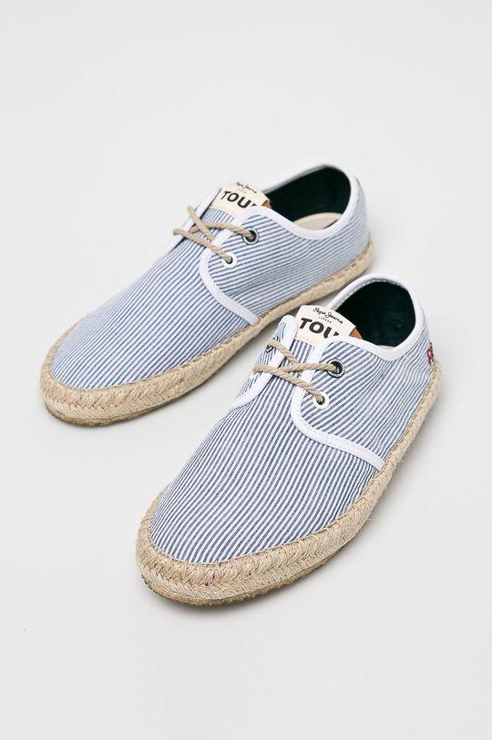 Pepe Jeans - Espadrilky modrá