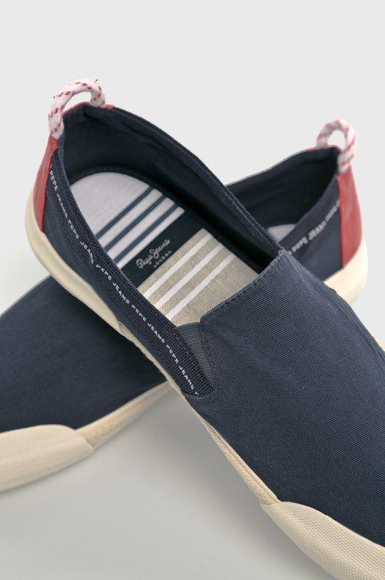 Pepe Jeans - Tenisky Svršek: Textilní materiál Vnitřek: Textilní materiál Podrážka: Umělá hmota