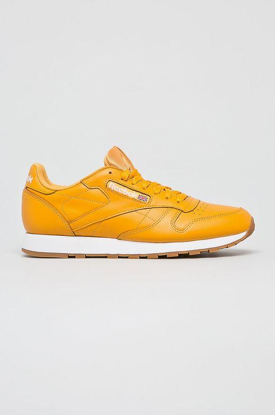 sárga Reebok Classic - Cipő Cl Leather Mu Férfi
