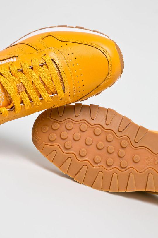 Reebok Classic - Cipő Cl Leather Mu  Szár: természetes bőr Belseje: textil Talp: szintetikus anyag