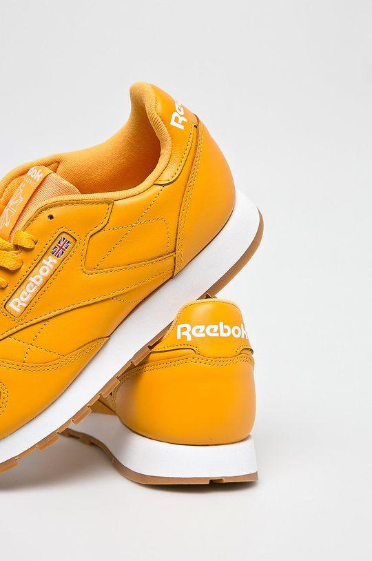 sárga Reebok Classic - Cipő Cl Leather Mu