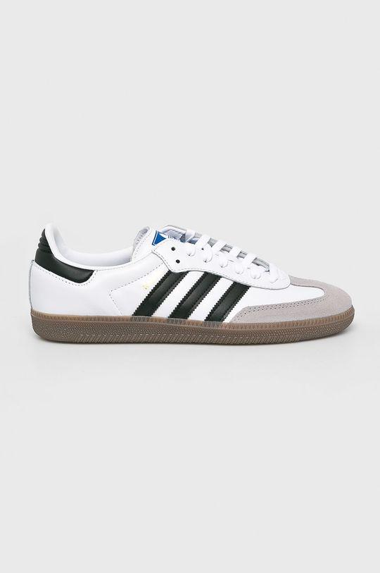 biela adidas Originals - Topánky Samba Pánsky