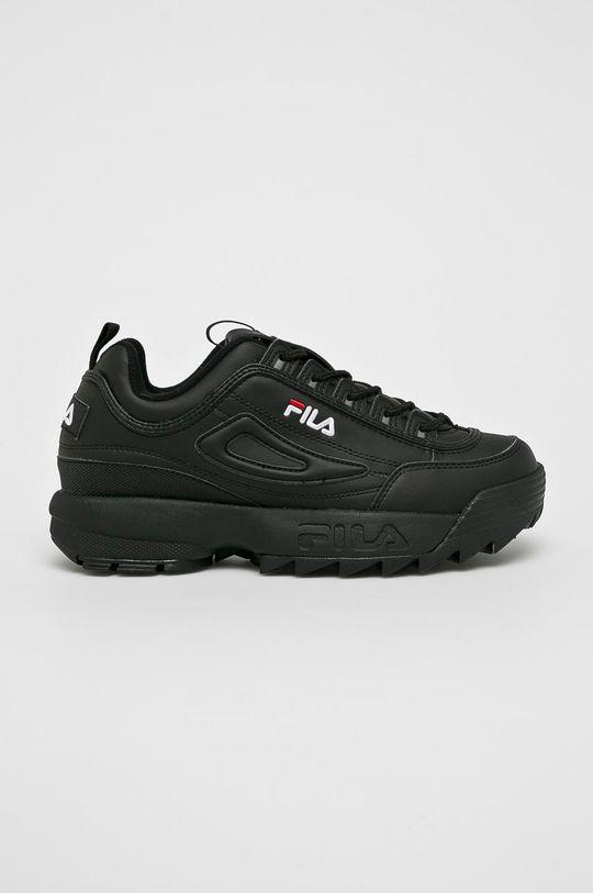 negru Fila - Pantofi Disruptor Low De bărbați