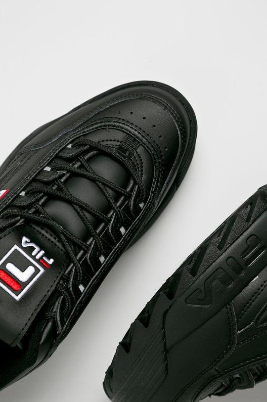 czarny Fila - Buty Disruptor Low