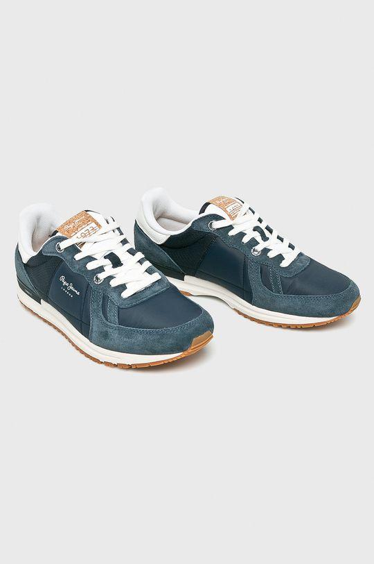Pepe Jeans - Boty námořnická modř