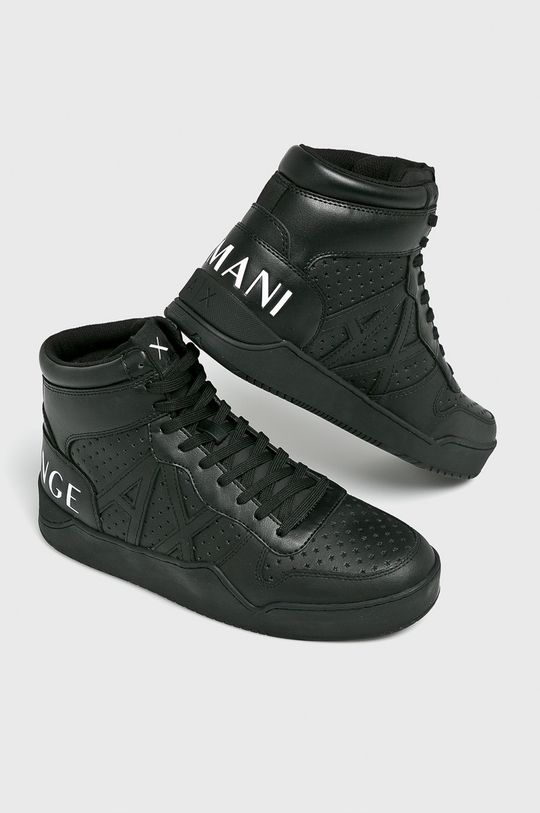 Armani Exchange - Topánky čierna