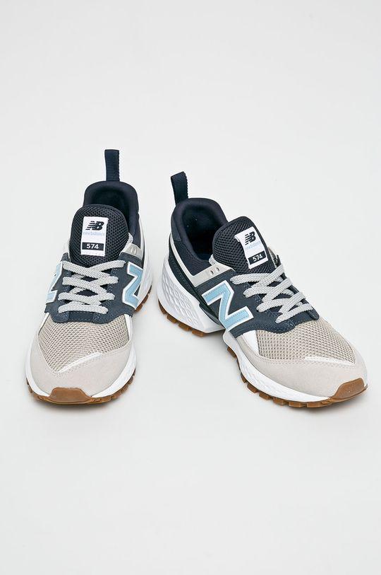New Balance - Cipő MS574JUA sötétkék