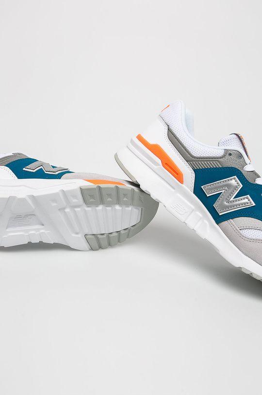 New Balance - Cipő CM997HCP  Szár: textil, természetes bőr Belseje: textil Talp: szintetikus anyag