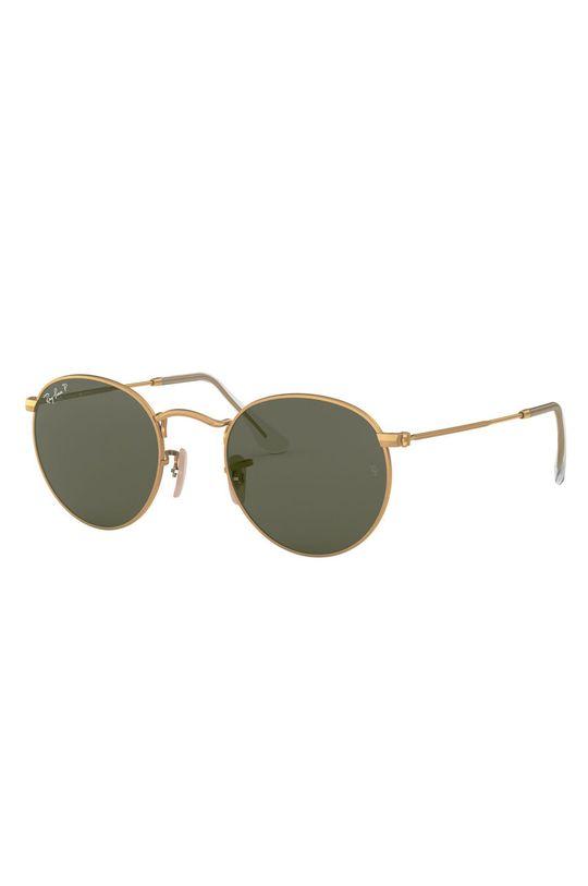 złoty Ray-Ban - Okulary 0RB3447.112/58.50. Unisex