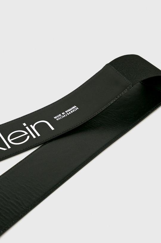 Calvin Klein - Kožený pásek 10% Polyester, 90% Přírodní kůže