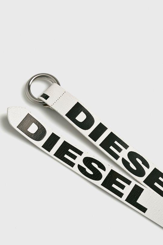 Diesel - Kožený pásek bílá