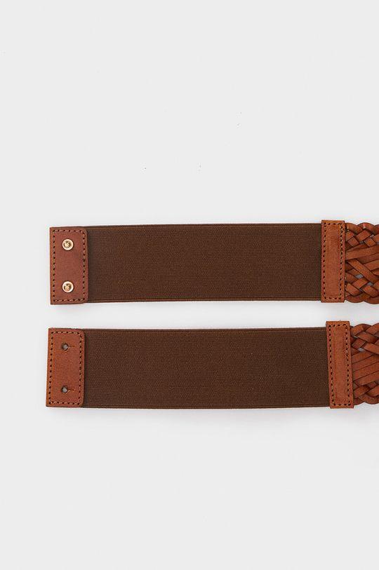 Parfois - Kožený pásek hnědá
