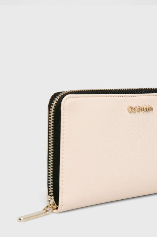 Calvin Klein - Peňaženka krémová