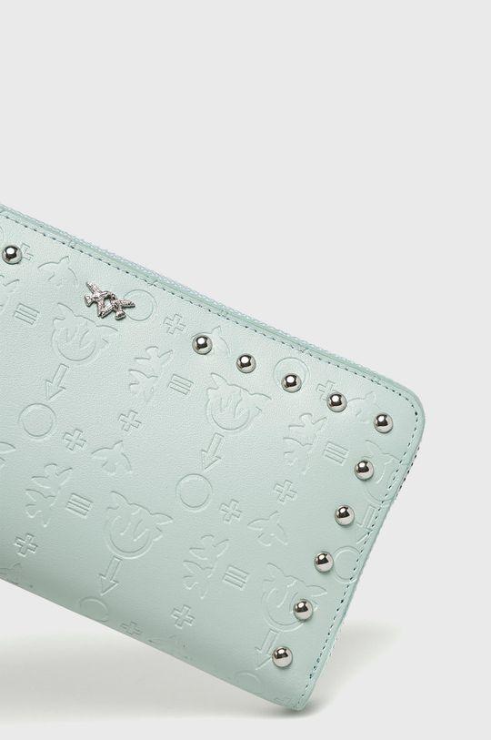 Pinko - Kožená peněženka mátová