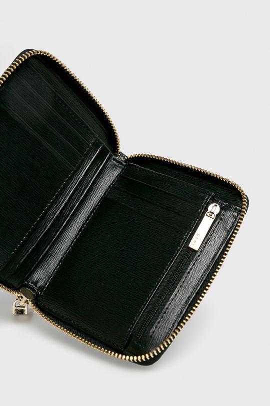 Dkny - Kožená peňaženka čierna