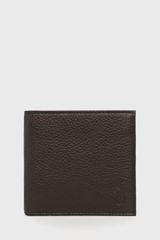 brązowy Polo Ralph Lauren - Portfel Męski