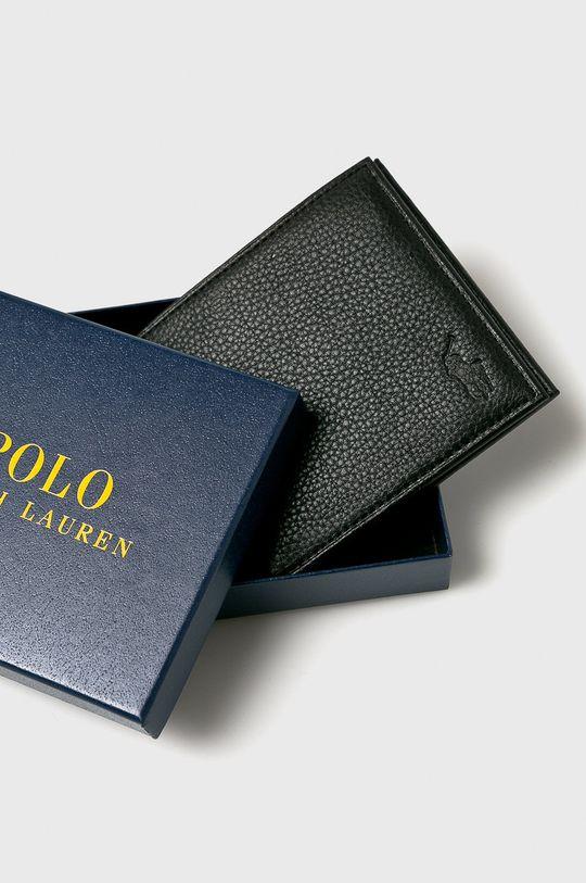 černá Polo Ralph Lauren - Kožená peněženka