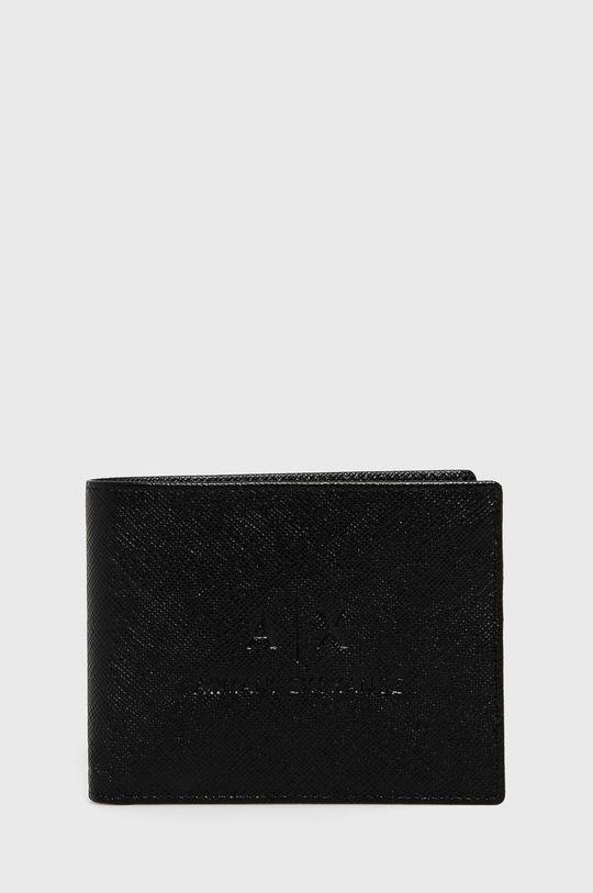 Armani Exchange - Kožená peňaženka <p>Základná látka: 100% Prírodná koža</p>