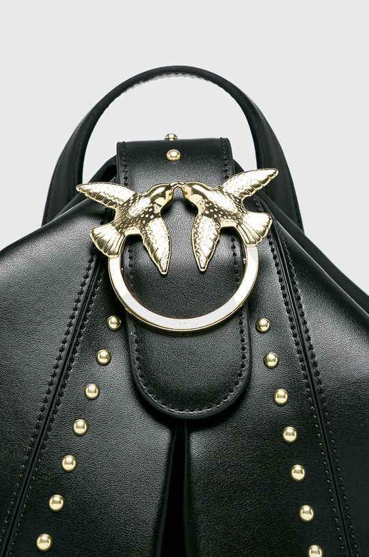 Pinko - Kožený batoh černá