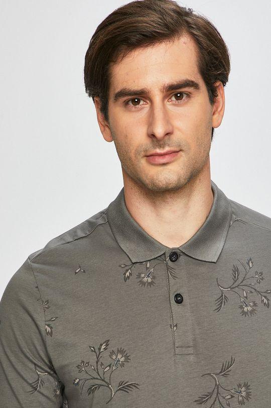 Premium by Jack&Jones - Polo tričko šedá