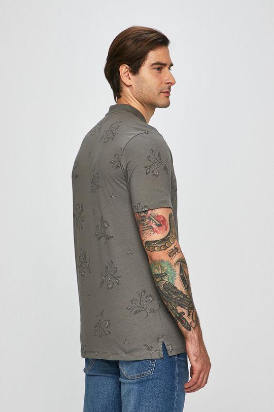 šedá Premium by Jack&Jones - Polo tričko