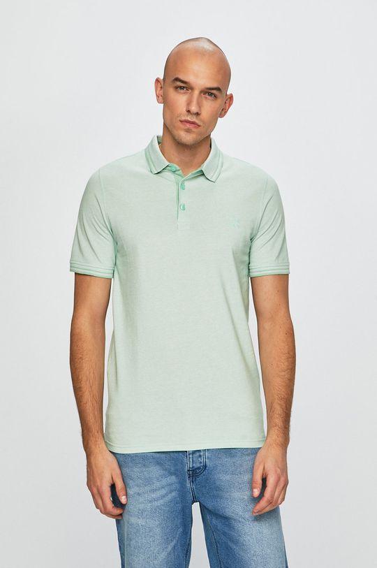 světle zelená Only & Sons - Polo tričko