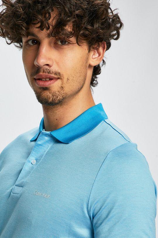 světle modrá Calvin Klein - Polo tričko