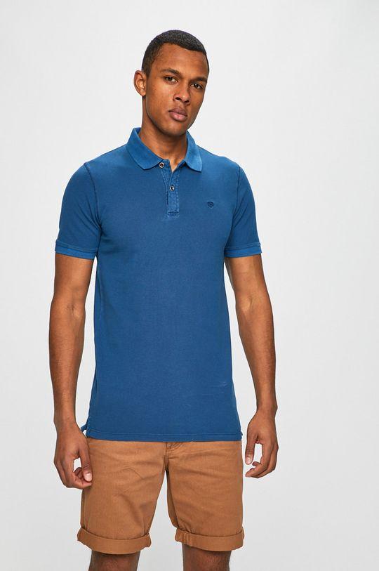 modrá Premium by Jack&Jones - Polo tričko Pánský