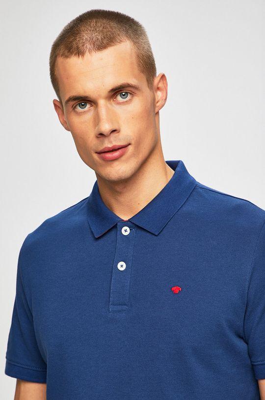 modrá Tom Tailor Denim - Pánske polo tričko Pánsky