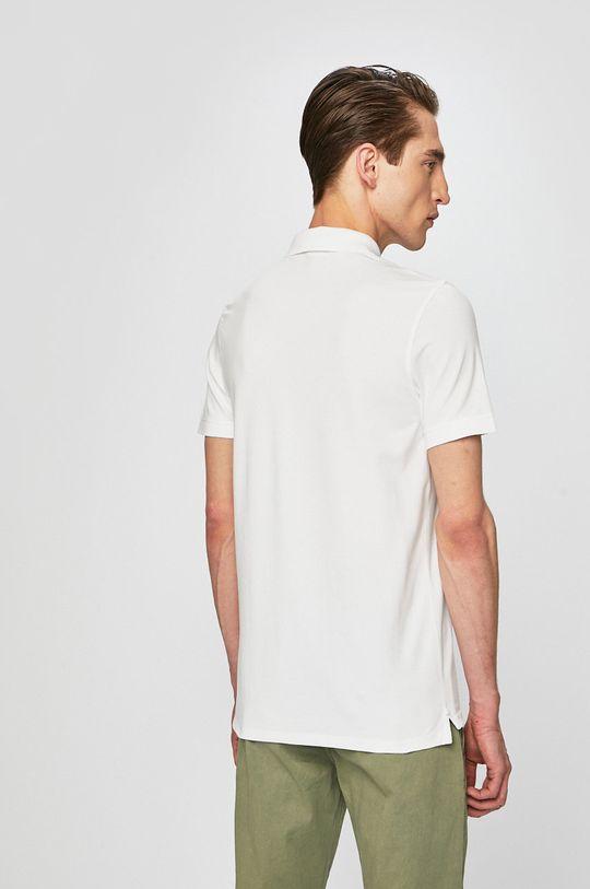 biela Selected - Pánske polo tričko