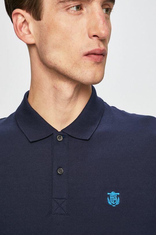 Selected - Pánske polo tričko tmavomodrá