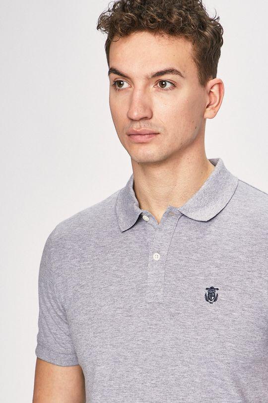 šedá Selected - Polo tričko