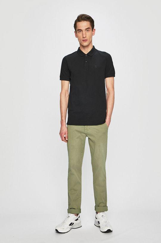 Selected - Polo tričko černá