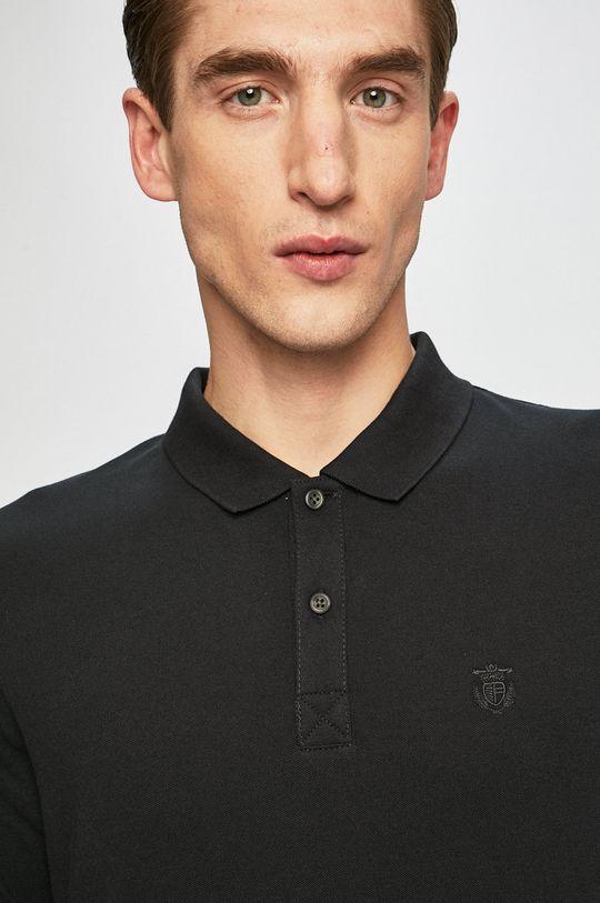 černá Selected - Polo tričko